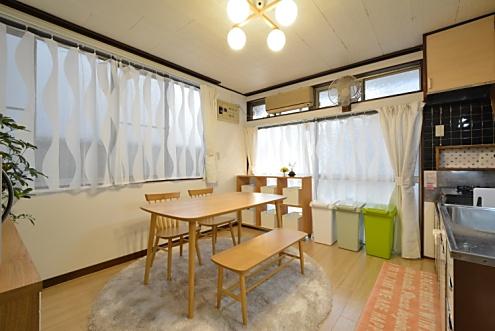 笹塚スマイルシェアハウス ラウンジ