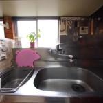 仙川スマイルシェアハウスのキッチン