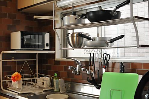 スマイルシェアハウス横浜のキッチン