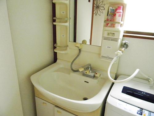 スマイルシェアハウス阿佐ヶ谷の洗面台