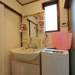阿佐ヶ谷スマイルシェアハウスの洗面台