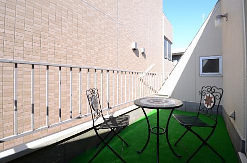 横浜スマイルシェアハウス401号室 ルーフバルコニーの写真