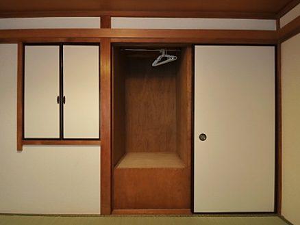 阿佐ヶ谷スマイルシェアハウス201号室の収納
